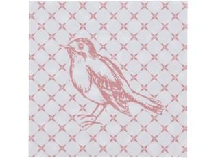 Papírové ubrousky s ptáčky Fly Away - 33*33 cm (20)