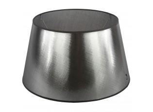 Stříbrno-černé stínidlo Azzuro drum - Ø50cm*27,5/ E27