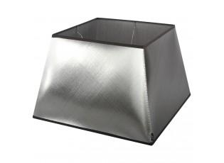 Stříbrno-černé stínidlo Azzuro square - 25*25*16,5cm/ E27