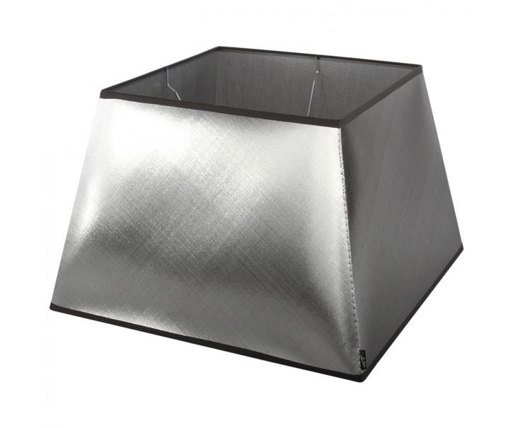 Stříbrno-černé stínidlo Azzuro square - 50*50*33,5cm/ E27