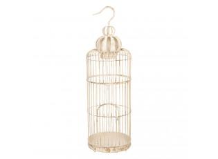Bílá ptačí klec - 30*30*94 cm