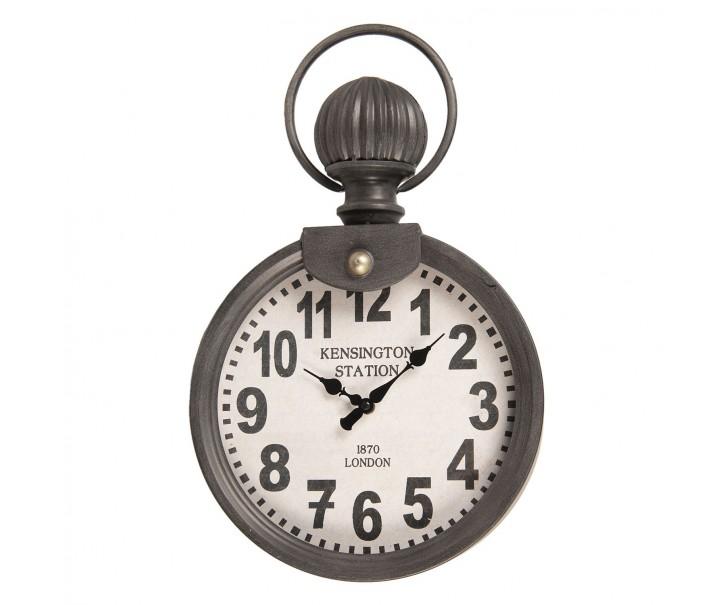 Vintage nástěnné hodiny s designem stopek - 30*13*49 cm/1xAA
