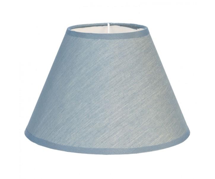 Textilní stínidlo na lampu v modré barvě Couleurs  - Ø 37*20 cm