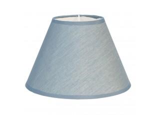 Textilní stínidlo lampy v modré barvě Couleurs -  Ø 25*16 cm