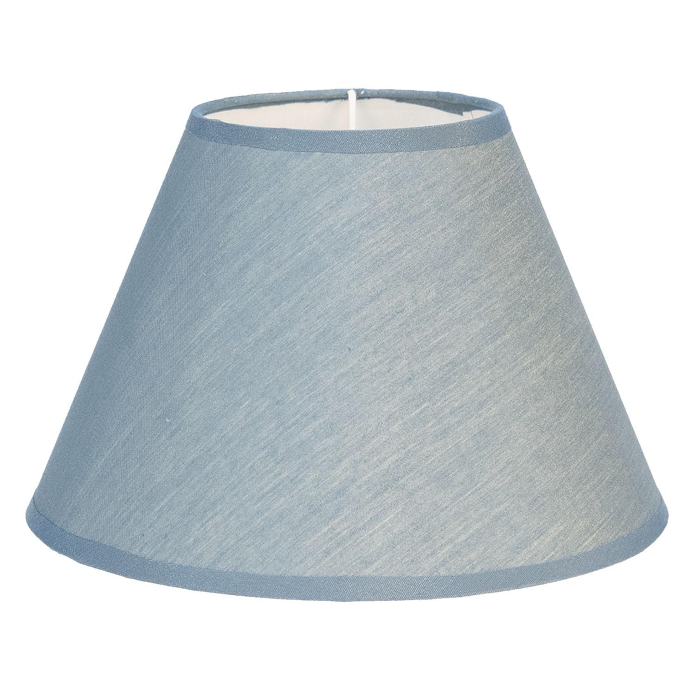 Levně Textilní stínidlo lampy v modré barvě Couleurs - Ø 25*16 cm