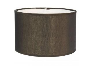 Zlatohnědé textilní stínidlo na lampu Godard - Ø 46*28 cm