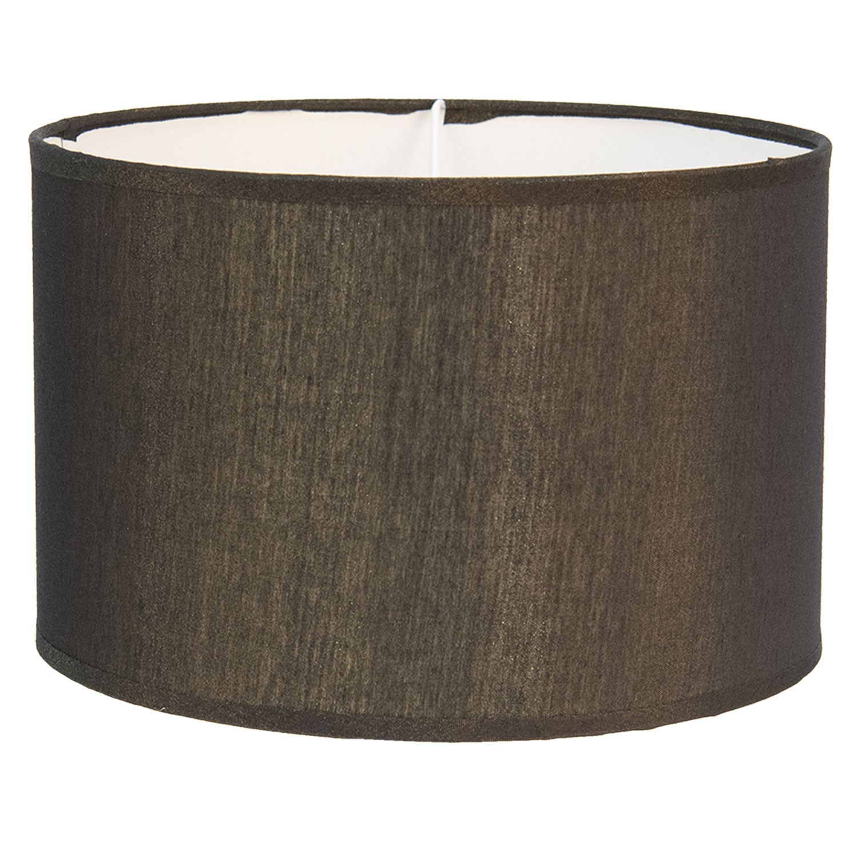 Clayre & Eef Zlatohnědé textilní stínidlo na lampu Godard - Ø 46*28 cm