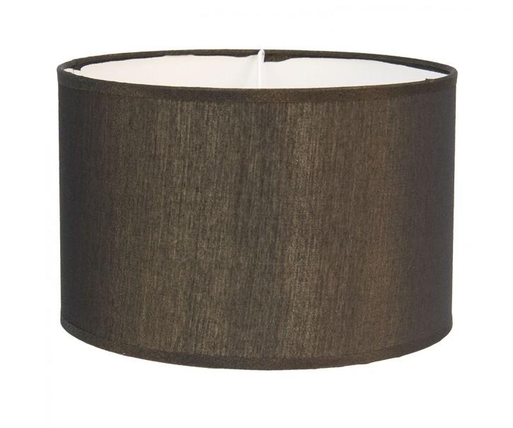 Zlatohnědé textilní stínidlo na lampu Godard - Ø 37*20 cm