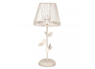 Vintage stolní lampa s růžičkami - Ø 20*48 cm/E27