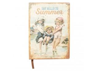 Zápisníček Summer s dětmi - 21*15*1 cm