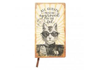 Zápisníček Cat - 18*10*1 cm