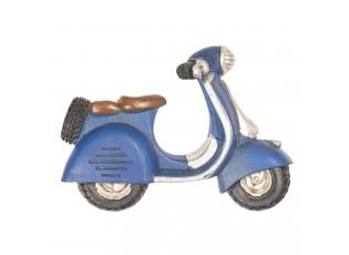 Magnet modrý skútr - 8*2*6 cm