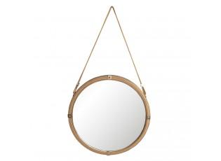 Závěsné zrcadlo na laně - Ø 60*5 cm