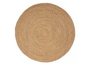 Přírodní kulatý koberec z mořské trávy - Ø 120 cm