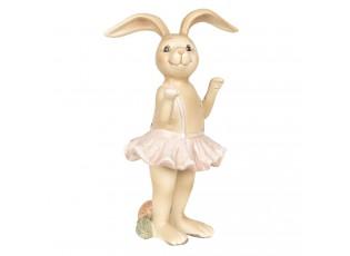 Dekorace králičí dívka v sukýnce - 7*6*14 cm