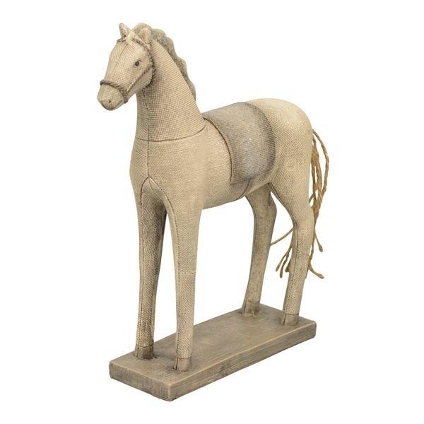 Dekorace koník Lilian s patinou - 19*6*26 cm