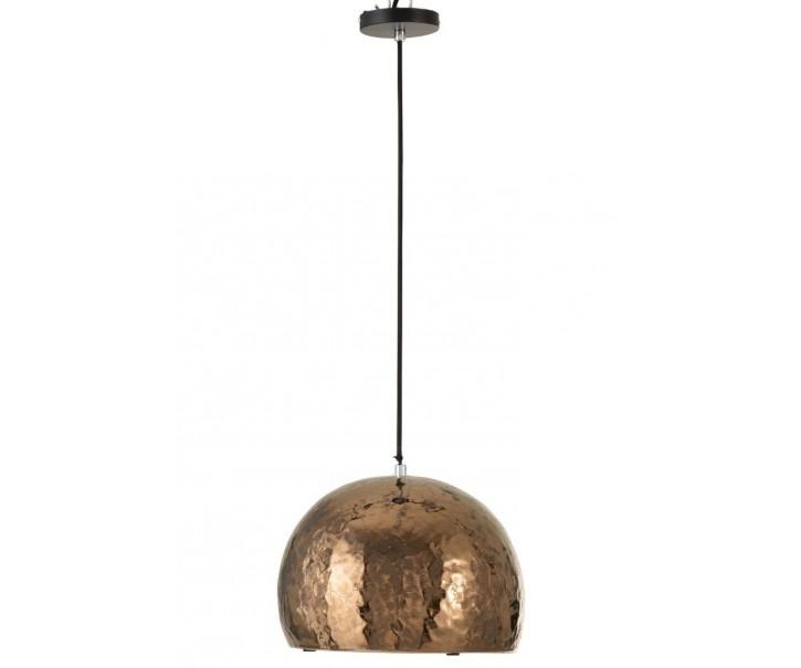 Bronzové keramické stropní světlo Globe bronze - Ø 30*132 cm