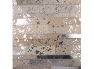 Koberec Enrico z kožených dílků - 170*240 cm