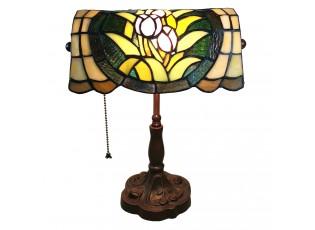 Stolní Tiffany lampa Brielle - 25*25*42 cm E27/max 1*60W