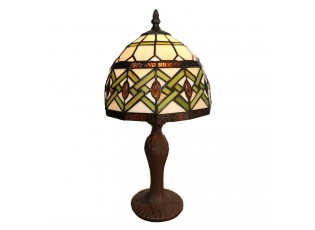 Stolní lampa Tiffany Adaliz - 21*21*33 cm