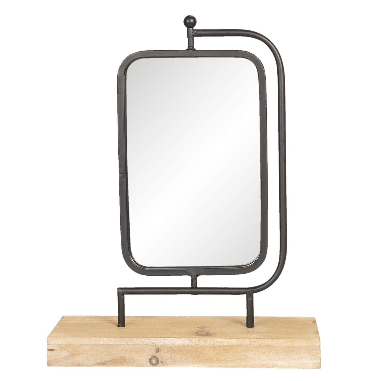 Kovové stolní zrcadlo Paul - 35*12*45 cm