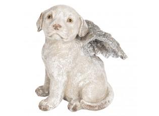 Dekorace pes s křídly - 16*13*20 cm