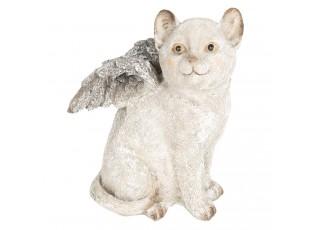 Dekorace kočka s křídly - 16*14*21 cm