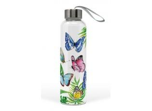 Skleněná láhev Topical Butterflies - 550ml