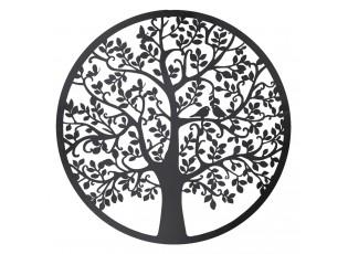 Nástěnná kovová dekorace Strom - ∅ 99 cm