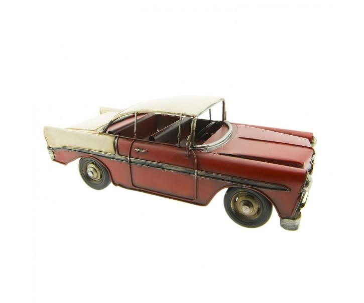 Kovový model retro kabrioletu - 29*11*10 cm