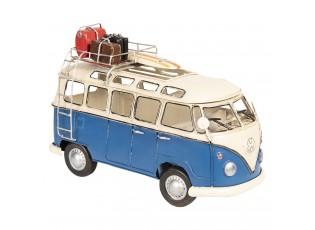 Licencovaný retro model autobusu Volkswagen - 26*12*17 cm