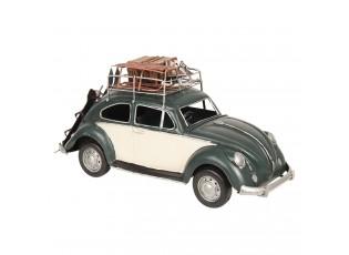Retro kovový model VW Beetle - 36*12*16 cm