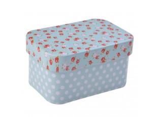Plechová krabička/šperkovnice - 7*5*4 cm