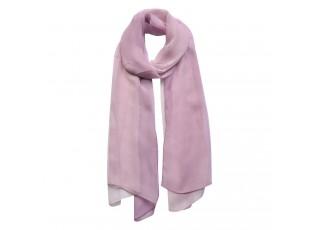 Fialový šátek - 50*160 cm