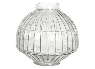 Dekorační skleněná váza Diane – Ø 26*26 cm