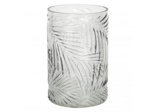 Dekorační skleněná váza Fiche – Ø 12*18 cm