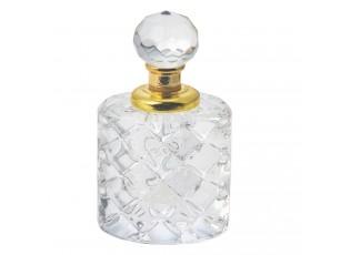 Flakón na parfém z broušeného skla Cristal - 4 cm