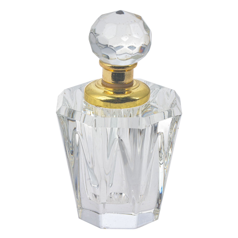 Clayre & Eef Malý flakón na parfém ze skla Cristal - 4 cm
