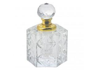 Malý flakon na parfém ze skla Flavie - 4 cm
