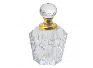 Malý flakon na parfém ze skla Lunete - 4 cm