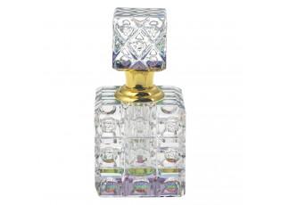 Skleněný flakon na parfém Dione - 8*11 cm