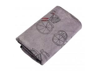 Krémový ručník s kolem - 35*75 cm