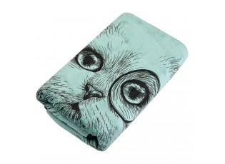 Zelený ručník Cat - 35*75 cm