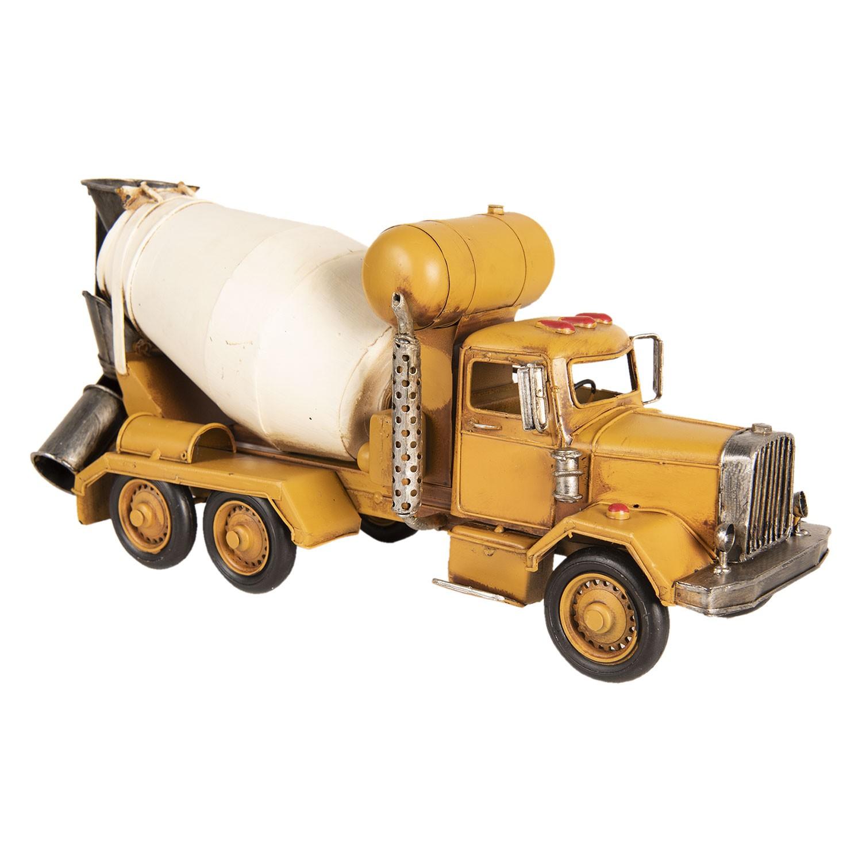 Kovový model míchačky na beton - 37*12*17 cm