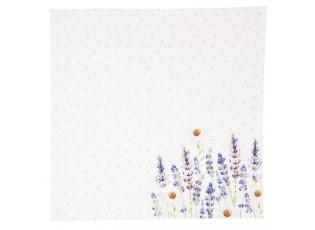 Textilní ubrousky Lavander Fields - 40*40 cm - 6ks