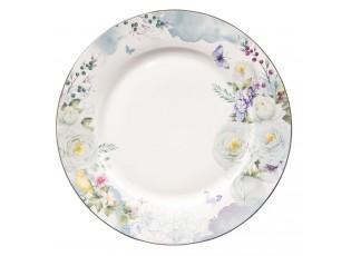Porcelánový jídelní talíř Butterfly - Ø 26*2 cm