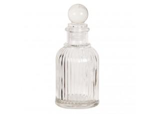 Malý flakon na parfém ze skla Adelle - Ø 4*10 cm