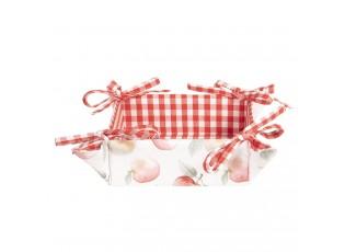 Textilní košíček na pečivo Apple Yard - 35*35*8 cm