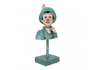 Dekorace Pinocchio na podstavci - 11*8*23 cm