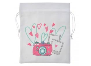 Batůžkový sáček s fotoaparátem - 18*20 cm